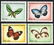 Netherlands New Guinea B23-B26, Mint. Butterflies, 1960