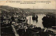 CPA  Le Petit Andely - Panorama de la Ville et de Cháteau-Gaillard,pris (297149)