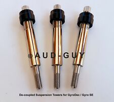 J.A. MICHELL 2-Piece Decoupled Suspension Tower Upgrade for GyroDec or Gyro SE