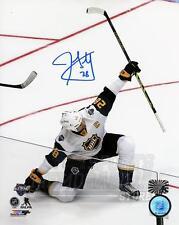 John Scott Signed Autographed 2016 NHL All-Star Game Goal Celebration 8x10 B