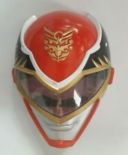 RED RANGER MASK Mighty Morphin Power Rangers Mega Force Bandai 2012 Hard Plastic