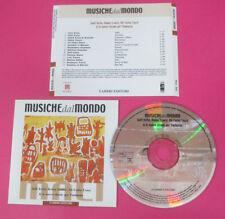 CD Compilation Musiche Dal Mondo Africa Mali SALIF KEITA ROKIA TRAORE'FARKA(C17)