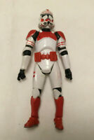 Star Wars The Clone Wars Shock Trooper Red Clone Trooper Action Figure