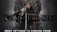 Game of Thrones - Many Options to choose from seasons: 1 to 8 * Blu-ray or DVD