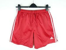 Vintage Adidas Shiny Nylon Shorts Size Large (AS14)