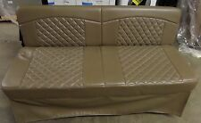 """New Rv Camper Home 62"""" Jack Knife Flip Style Wal Mount Sofa Bed Couch Tan"""