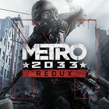 Metro 2033 Redux Region Free PC KEY (Steam)