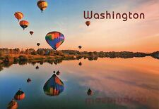Hot Air Balloon Festival, Washington State, Winthrop & Methow Valley ?, Postcard