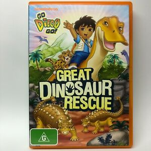Go Diego Go - Great Dinosaur Rescue - DVD - AusPost with Tracking