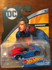 DC Comics * Superman * 2017 Hot Wheels Character Cars