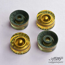 BOUTONS RELIC SPEED KNOB AGED GOLD KNOBS GIBSON Style InchSize KN11G2X-AGED