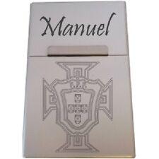 boite a cigarette en aluminium anodisé gravée personnalisée croix portugal