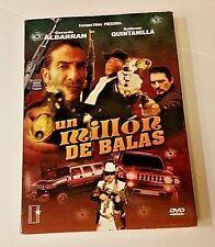 Un Millon De Balas GERARDO ALBARRAN GUILLERMO QUINTANILLA NEW DVD FREE SHIPPING