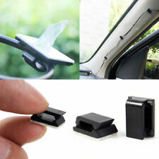 50pcs coche Adhesivo Drop Clip Holder Cable Organizador Gota Alambre Soporte