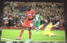 Mario Balotelli signed Liverpool 12x8