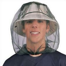 Mosquito Head Net Mesh Face Protector Cap Insect Bee Sun Fish Hat