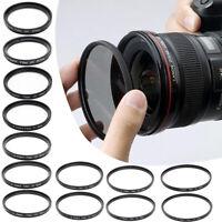 37-82MM Optical UV Filter Camera Lens Protector For Canon Nikon Tamron