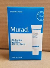 Murad Oil-control Mattifier SPF 15 Pa++ - .33 Fl Oz / 10 mL (Travel Size)