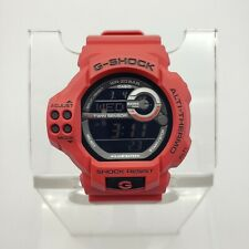 Casio G-Shock Twin Sensor Men's Watch GDF-100-4 GDF100 Red Black Digital EUC