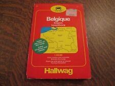 carte routiere belgique belgium luxembourg