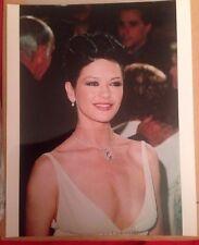 Catherine Zeta Jones 10x8 Glossy Photo Chicago & The Darling Buds Of May