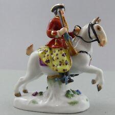 Miniatur Figur Jägerin zu Pferde H.7,5 cm  Meissen 63057 TOP 1.Wahl