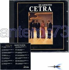 "QUARTETTO CETRA ""GOLDEN AGE ORIGINAL RECORDINGS"" CD"