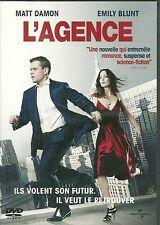 DVD - L' AGENCE avec MATT DAMON, EMILY BLUNT / COMME NEUF