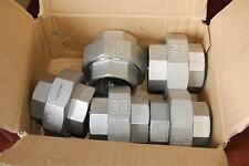 "Merit Brass K487-24,1 1/2"" Coupling, Split Union Stainless Steel Lot of 5  NEW"