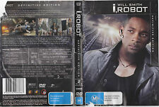 I, Robot (DVD, 2007, 2-Disc Set) Definitive Edition Will Smith, James Cromwell