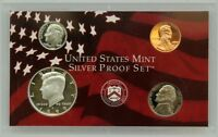 1999-S Partial Silver Proof Set - Kennedy Half, Dime, Nickel & Cent - 4 Coins