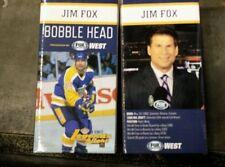 2013-14 JIM FOX BOBBLEHEAD LOS ANGELES KINGS LEGENDS ANNOUNCER SGA