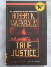 True Justice by Robert K. Tanenbaum Audio Book (4 Cassettes, Abridged - 2000)