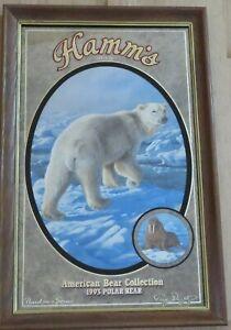 POLAR BEAR (1993) - Hamm's Beer Mirror