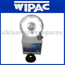7 INCH ROUND HEADLIGHT HALOGEN COMES WITH H4 BULB - FITS MANY CLASSIC CARS