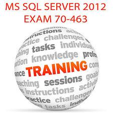 Examen de MS SQL Server 2012 70-463 - Video Tutorial DVD de entrenamiento