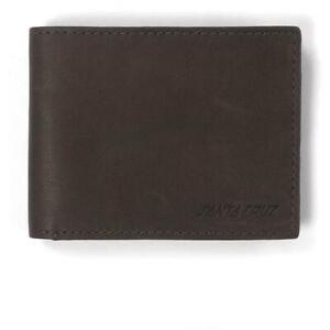 Santa Cruz Wallet Classic Strip Chocolate Leather Bi-Fold + Box