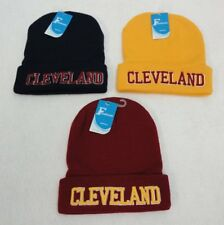 72PC LOT CLEVELAND WINE GOLD Embroidered Winter Beanie Hats