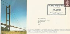 1981 FIRST COVER CARRIED OVER HUMBER BRIDGE SIGNED ALEX CLARKE REF 1481