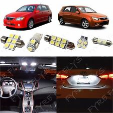 6x White LED lights interior package kit for 2005-2013 KIA Spectra5 KP1W