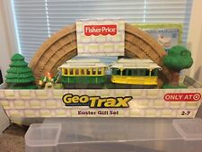 NEW!!Fisher Price Geo Trax Transport System Easter Gift Set Incl. DVD - TARGET.