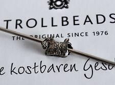 Original Trollbeads  Hund   Schottischer Terrier   Retired