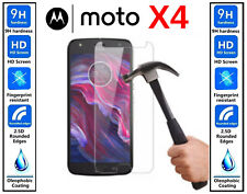 Genuine 100% TEMPERED GLASS HD Screen Protector Cover For Motorola Moto X4