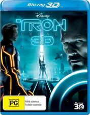 Tron Legacy 3D Blu-ray Region B like  New!