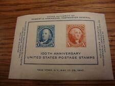 "SCOTT  #948 ""100th Anniversary of postage stamp""  1947"