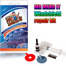 New Auto Glass Windscreen Windshield DIY Repair Kit  For Chip Crack Bullseye GDL