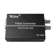 Wiistar VGA TO HD SD 3G SDI Converter for PC SDI Monitor