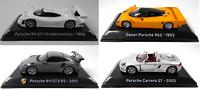 Lot de 4 Voitures de Sport Porsche Dauer 1/43 IXO Supercars Diecast car SL12
