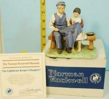 1979 Norman Rockwell Lighthouse Keeper's Daughter Bisque Porcelain Figurine