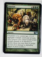 Overrun ~ MAGIC THE GATHERING PLAYSET MTG (4x cards)  M12